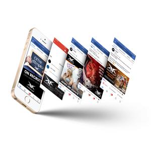 conception visuel web réseaux sociaux tarbes