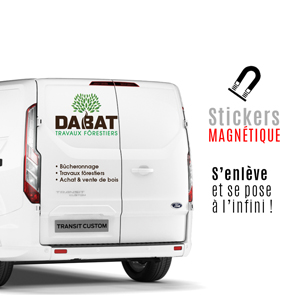stickers magnétiques tarbes