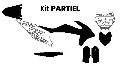 kit déco partiel moto