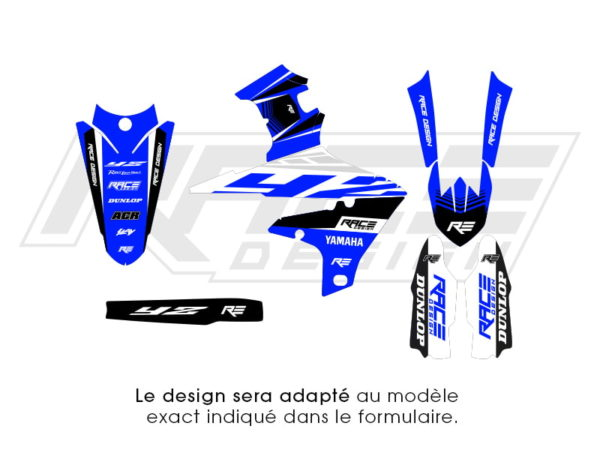 kit deco partiel yamaha speed