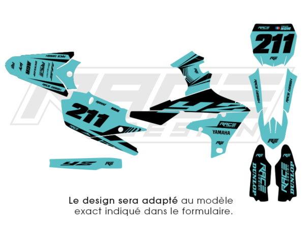 kit deco yamaha speed turquoise