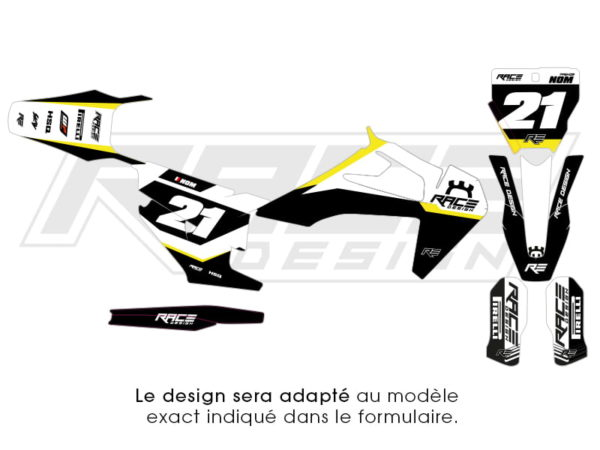 kit stickers deco husqvarna racer 2.0