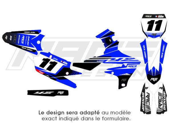 kit stickers yamaha race edition