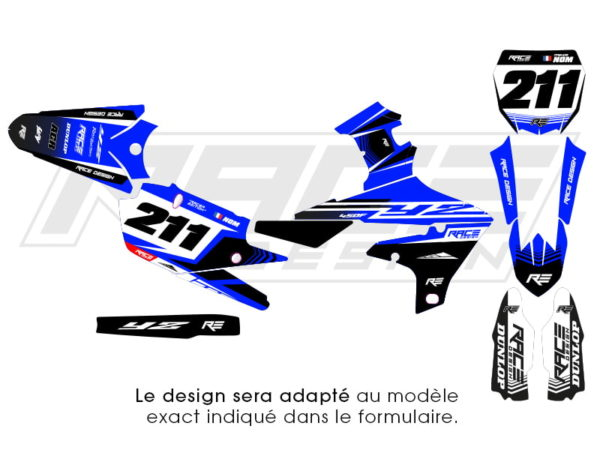 kit stickers yamaha race edition v2